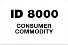VID8000 Handling Label 150mm x 100mm ID8000 Consumer Commodity - Rolls of 250